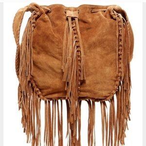 LF fringe bag / darker brown